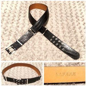 Ralph Lauren belt paid $190 size XL Like new